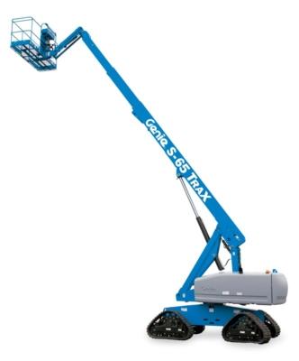 Staplerwelt GmbH - Genie S-60 Trax und S-65 Trax