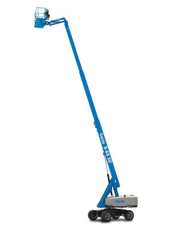 Staplerwelt GmbH - Genie S-65 XC und S-65 TraX