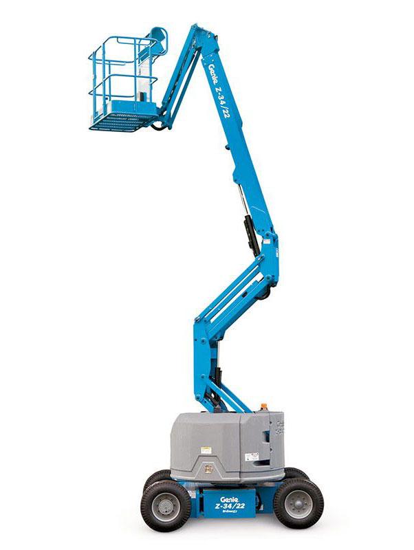 Staplerwelt GmbH - Genie Z-34/22 Bi-Energy